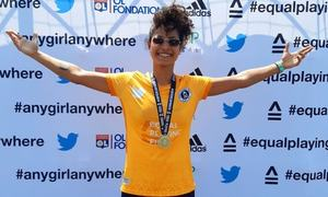 Hajra Khan Contributes 4 Goals to the Guinness World Records Match Organised by EPF In France!