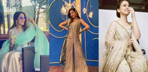 What The Celebs Are Wearing This Eid