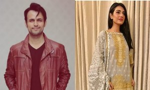 Usman Mukhtar Pairs Up With Sarah Khan For A New Play