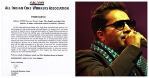 Cine Association Bans Mika Singh from Indian Film Industry