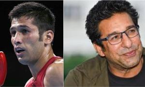 Wasim Akram Apologizes to Boxer Muhammad Waseem on Behalf of Pakistan