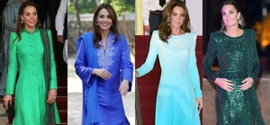 The Duchess of Cambridge owned the traditional looks!