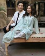 Ushna Shah & Ahsan Khan are shooting for an upcoming drama