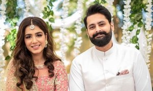 Mansha Pasha & Jibran Nasir are engaged!