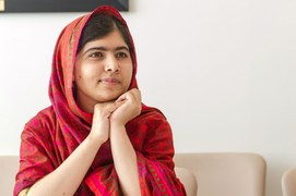 Nobel Laureate, Malala Yousafzai declared 'most famous teenager'