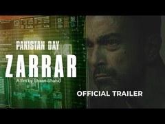 Zarrar's trailer is out & it looks promising!